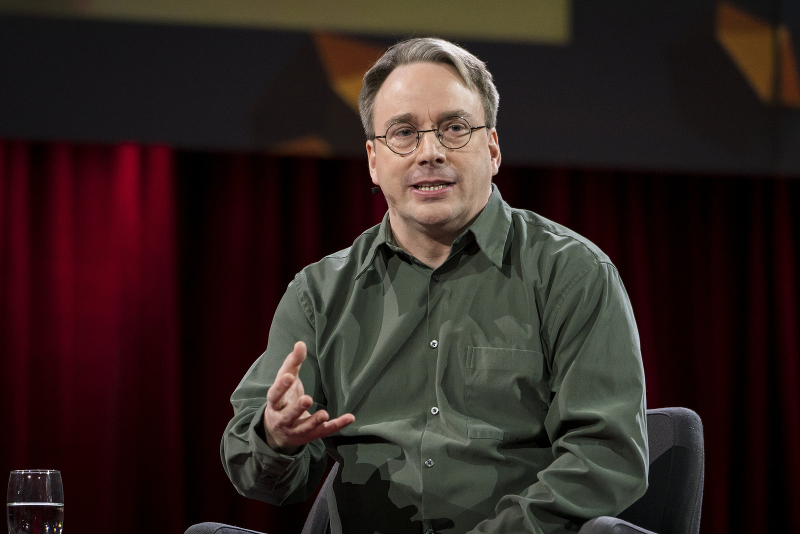 Linus Torvalds Speaks Openly about Work and Code at TED2016 [Video] - Linux. com