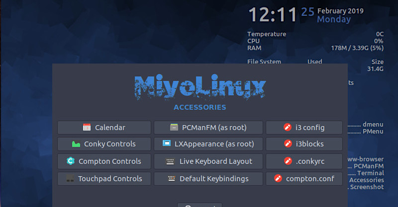 MiyoLinux: A Lightweight Distro with an Old-School Approach